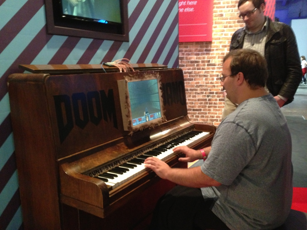 Wolfenstein on piano!